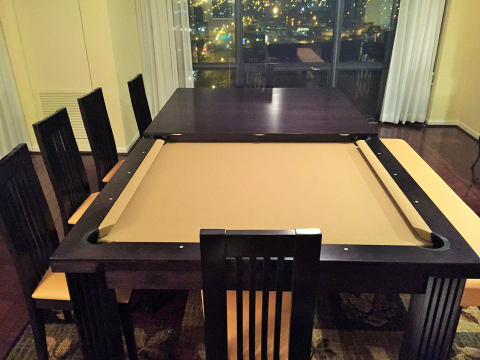 Dining pool table top.